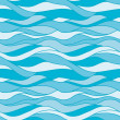Seamless pattern water — Image vectorielle