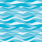 Seamless pattern water — Stock Vector