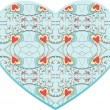 Royalty-Free Stock Imagen vectorial: Cold heart