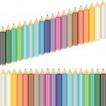 Colored pencils — Stock Vector #10541955