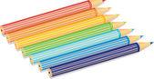 Rainbow icon — Stock Vector