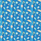 Summer pattern — Stock Photo