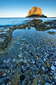 Monemvasia rock — Stock Photo