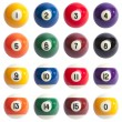 Pool Balls — Stock Photo #8775888