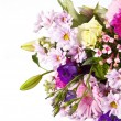 Stock Photo: Flower bouquet background