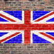 Flag of The United Kingdom - Stock Photo