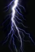 молния — Стоковое фото