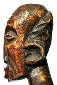 Wooden head — Stock Photo