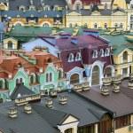 Roofs and attics — Stock Photo