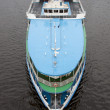 River cruise vessel — Stock Photo