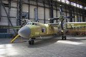 飞机生产 — 图库照片