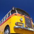 Yellow Old bus — Stock Photo