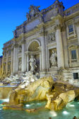 Trevi fountain,Rome. — Stock Photo