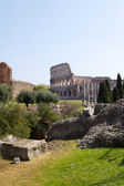 Colosseum from The Imperial Fora — Stock Photo