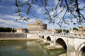 Castel saint Angelo.Rome. — Stock Photo