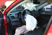 Airbags safety — Stock Photo