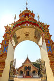 Beautiful Thai temple gate. — Stock Photo