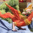 Stock Photo: Bird sculpture in the literature, the Ramayana.