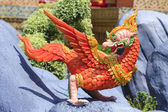 Bird sculpture in the literature, the Ramayana. — Stock Photo