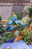 Statues of animals in Thai literature. — Stock Photo