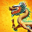 Chinese style dragon statue — Stock Photo #10715267