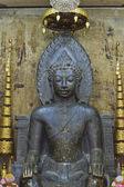 Wat na phra meru, ayutt oturan Buda heykeli — Stok fotoğraf