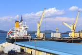 Port cranes — Stok fotoğraf
