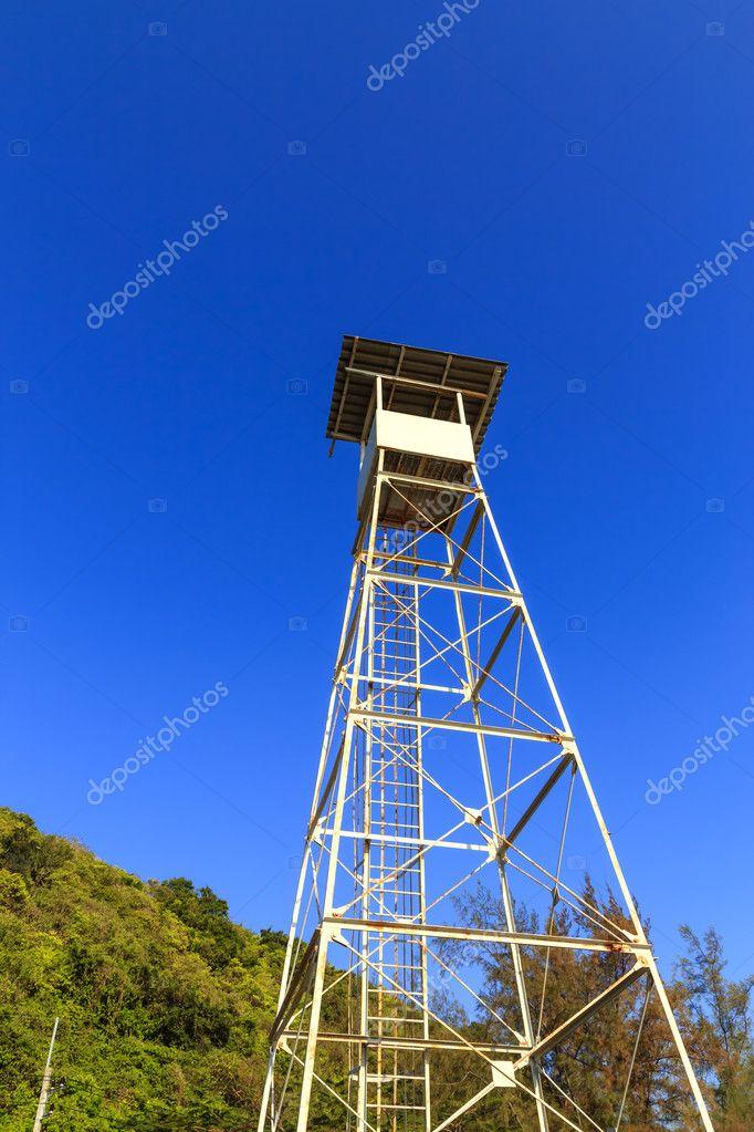白色的瞭望塔 — 图库照片08reborn55#9619934