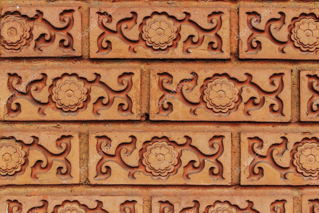 Old brick wall beautiful pattern.  Stock Photo #9928131