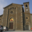 Stock Photo: Church of Serravalle Country