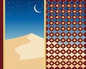 Sand dunes — Stock Vector