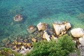 Meer und felsen — Stockfoto