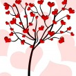 Stock Photo: Tree of love