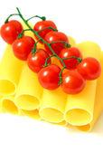 Pasta on white background — Stock Photo