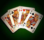 Poker. Two pairs — Stock Photo