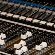 Mixer Board — Stockfoto