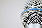Microphone — Foto Stock