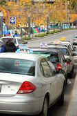 Taxi Line — Stock Photo