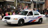 Veicolo della polizia — Foto Stock