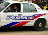 Police Car — Stockfoto