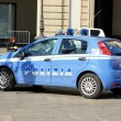 Italian Police Car — Stock Photo