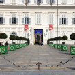 Turin Palazzo Reale — Stock Photo