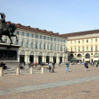 San Carlo Square in Turin — Stock Photo