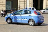 Italian Police Car — Stock Photo