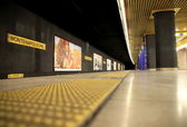 Milan Subway Station — Stock Photo