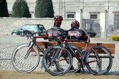 Ciclisti — Foto Stock