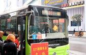 Autobús público chino — Foto de Stock