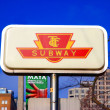 Stock Photo: TTC Sign