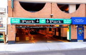Parking Entrance — Stock Photo