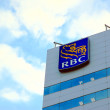 RBC bank teken — Stockfoto